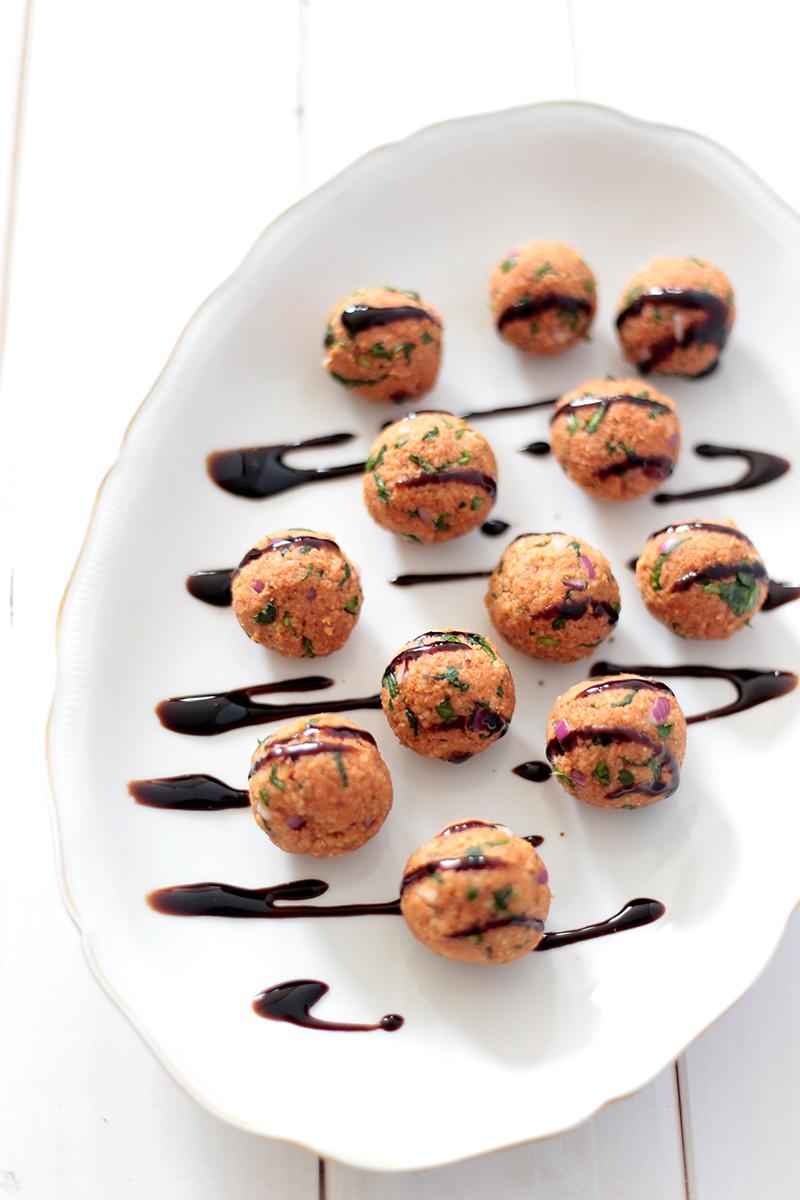 Couscous and Hazelnut Balls