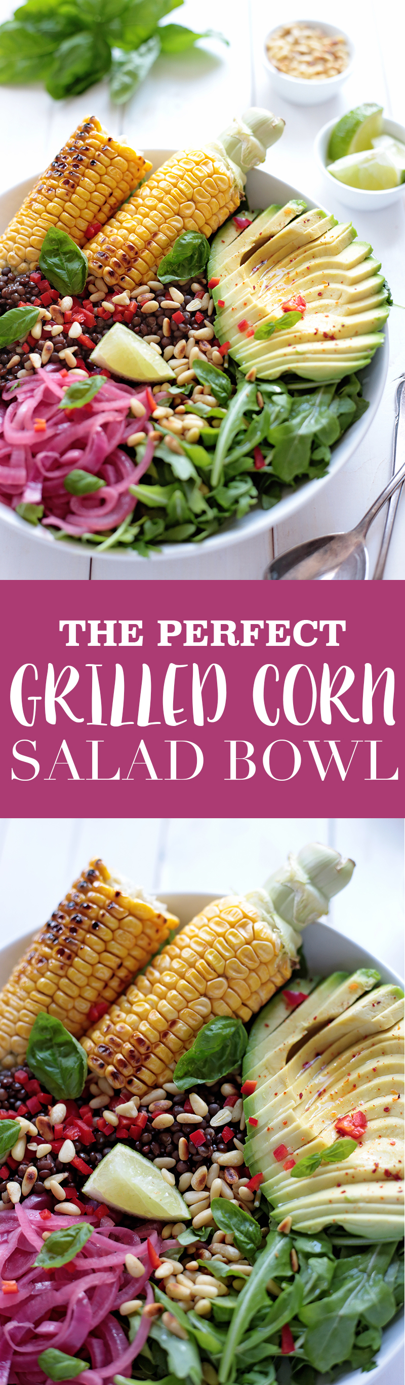 Grilled Corn Salad Bowl