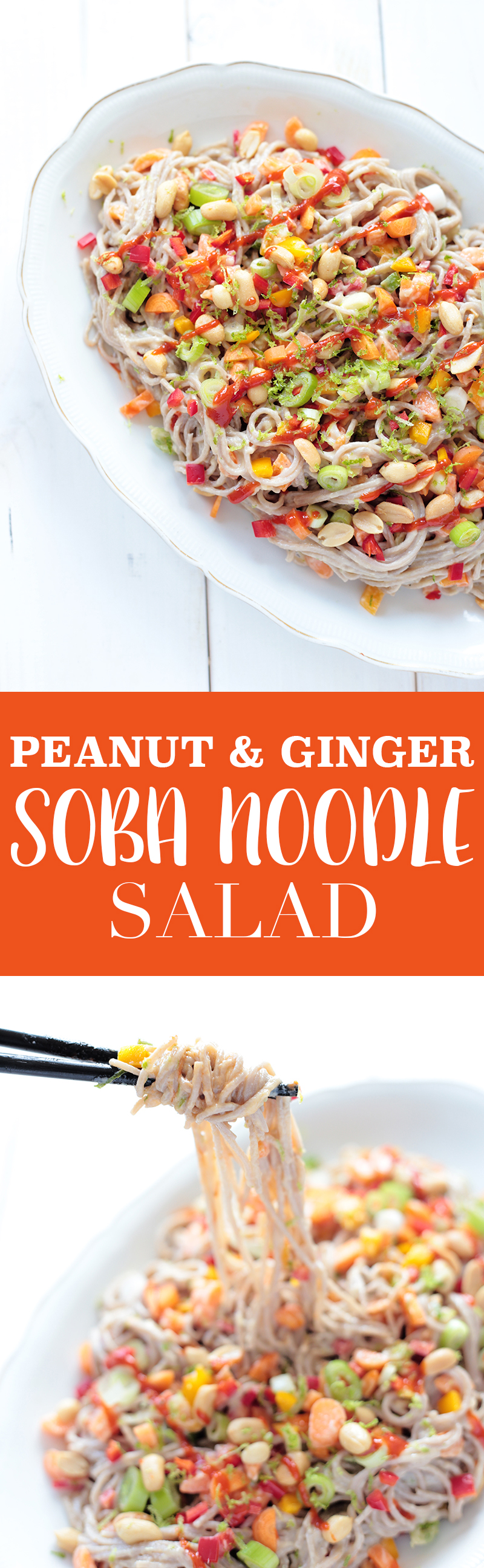 Soba Noodle Salad with Peanut and Ginger