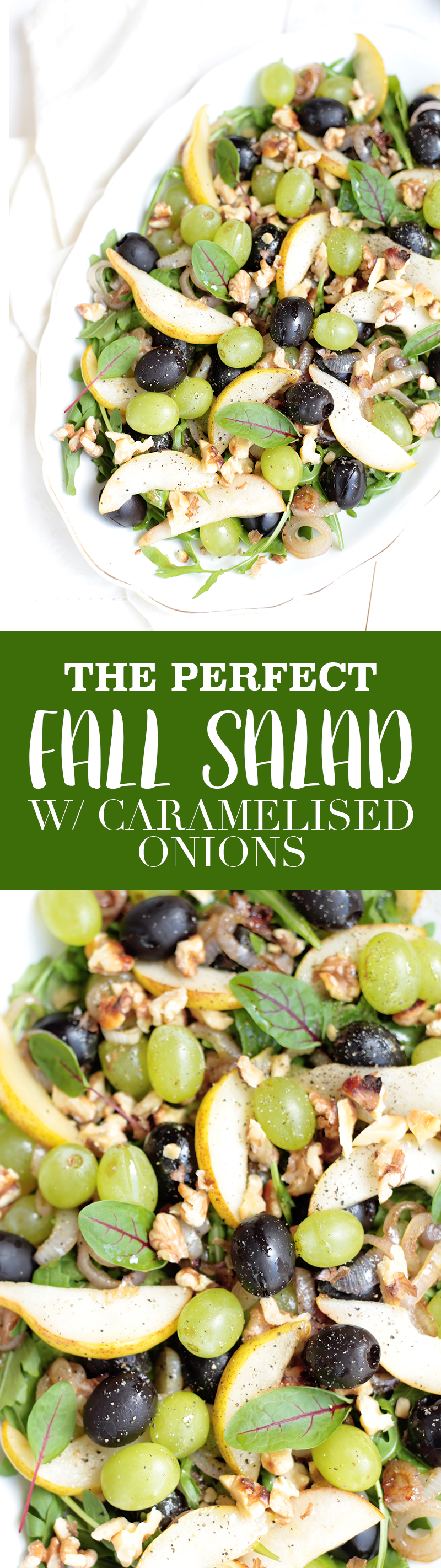 The Perfect Salad for Fall
