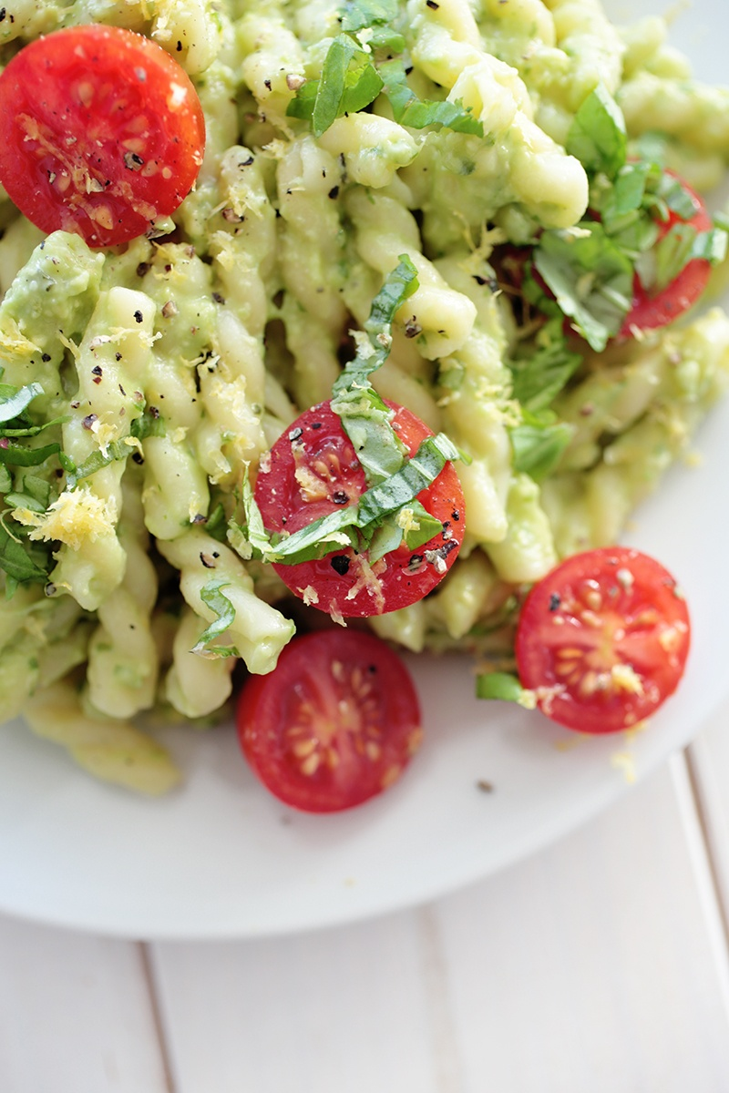 Quick Avocado Pasta
