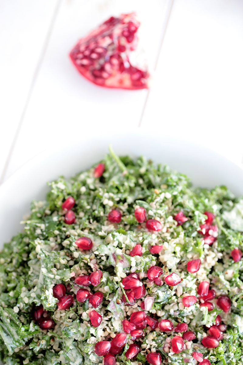 Christmas Kale Salad