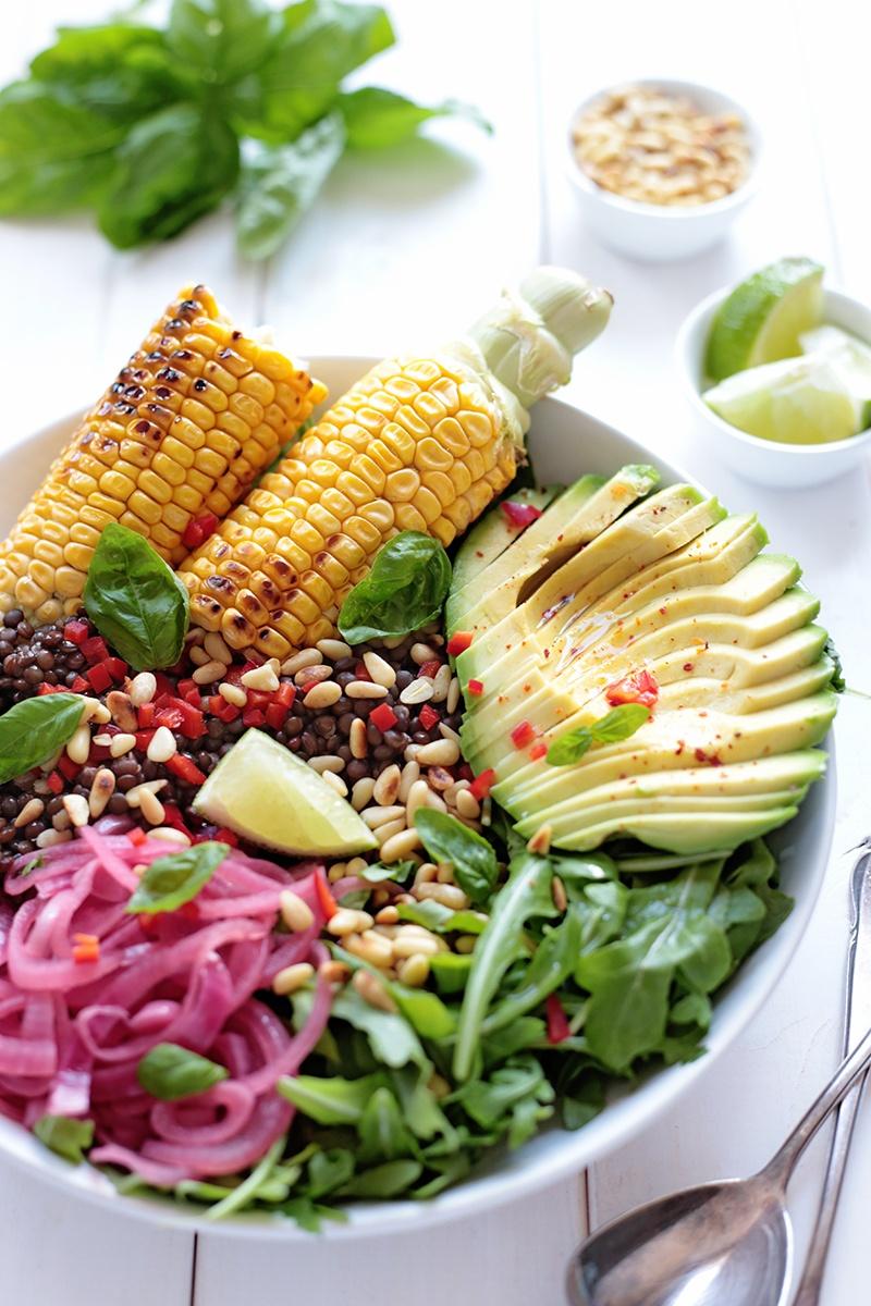 Best of 2015 - Grilled Corn Salad Bowl