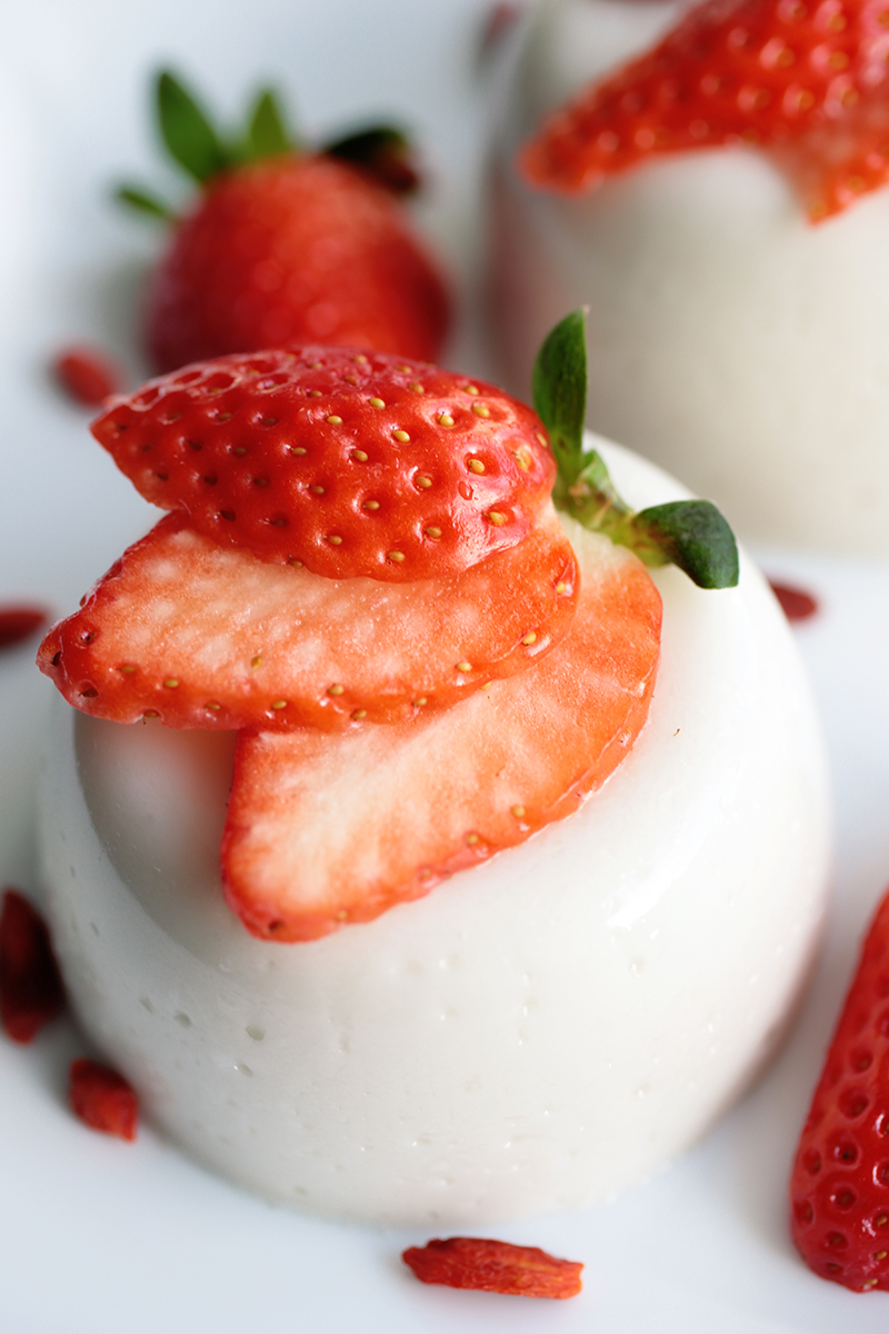 Vegan Coconut Panna Cotta
