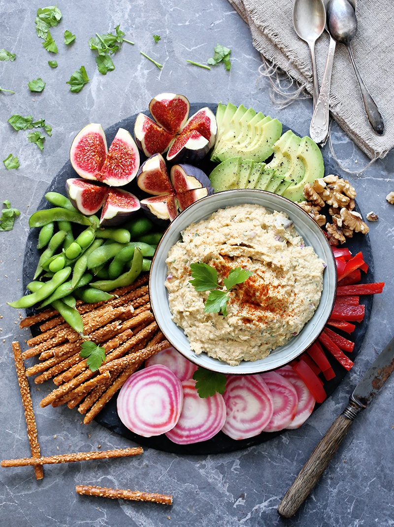 Vegan obazda german style tempeh spread green evi oktoberfest is over but it doesnt mean we cant eat german food right this creamy spread called obazda or obatzda is one of those bavarian foods that forumfinder Image collections
