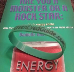 green eyed guide wristband