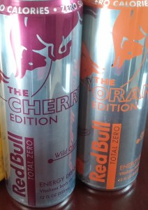 Red Bull Total Zero Cherry Orange
