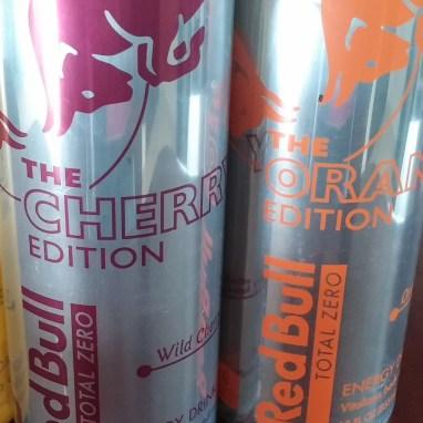 Red Bull Total Zero Cherry Orange