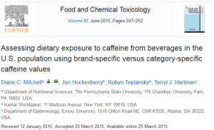 Food and Chemical Toxicology Assessing Dietary Exposure