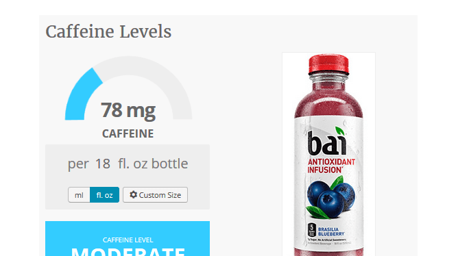 Energy Drink of the Month – February 2016: Bai Antioxidant Infusion