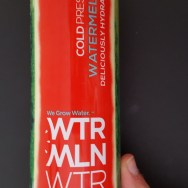 GreenEyedGuide.com Energy Drink of the Month for June 2016 is WTRMLN WTR.