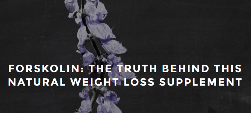 Can Forskolin Help You Reach Your Health/Fitness Goals?  (Organic Newsroom Guest Post)