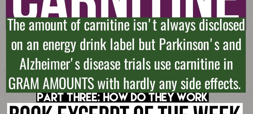 How Much Carnitine? Book Excerpt of the Week