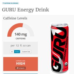 Caffeine Informer GURU