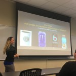 GreenEyedGuide at Cal State Fullerton - energy drinks presentation