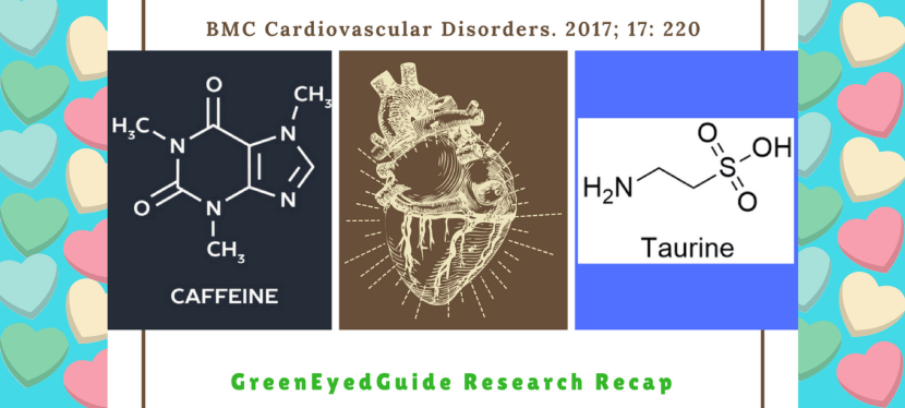 Research Recap: How do caffeine and taurine affect the heart muscle (myocardium)?