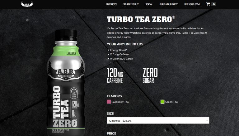 Turbo Tea Zero from ABB