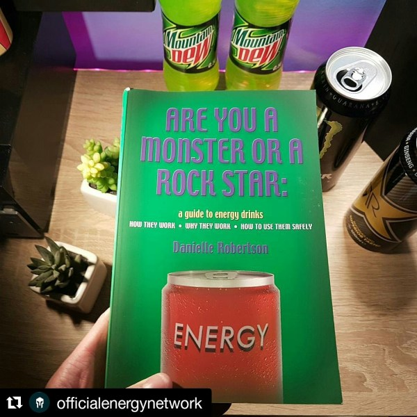 Energy Drink Book - fan photo OEN