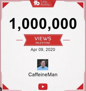 CaffeineMan YouTube Success