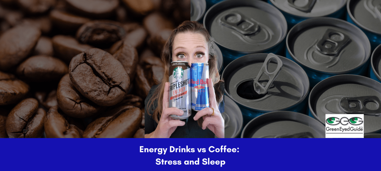 Are energy drinks worse than coffee for stress and sleep?