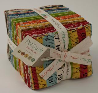 Moda Fat Quarter Bundle - Pot Luck by American Jane