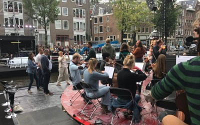 Sustainable goals live broadcast classical concert 'Prinsengracht'