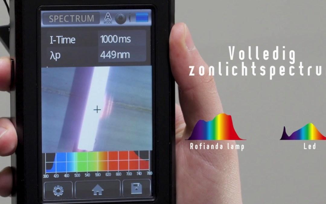 Rofianda ontwikkelt full spectrumLED