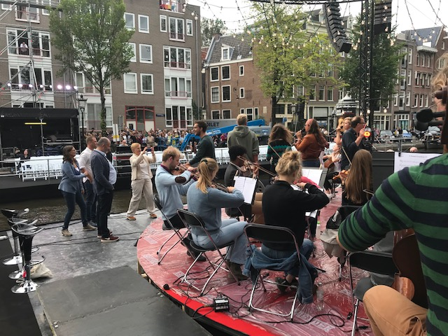 Duurzame doelen live-uitzending Prinsengrachtconcert AVROTROS