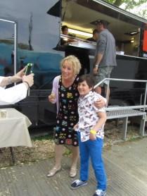 Me and Carol Klein
