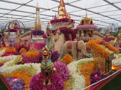 Amazing floral displays