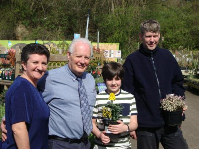Kerry, Director, David Henshaw, Me and Steve Dann, Plant Supervisor