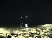 Luna e Venere. Marina di Ragusa (Rg) 5/12/13