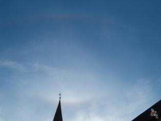 Supralateral arc, upper tangent arc. San Vito di Cadore (Bl) 22/11/14