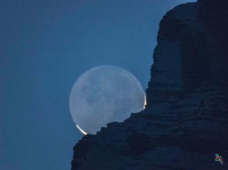 Luna Cinerea. Borca di Cadore (Bl) 20/2/15