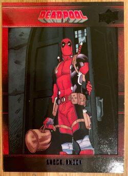 deadpool knock knock comic book cover