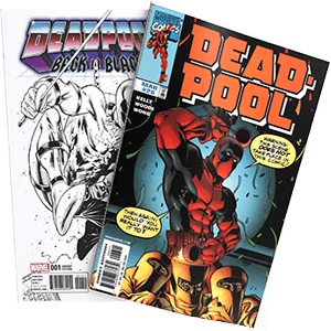 Deadpool Comic book cover
