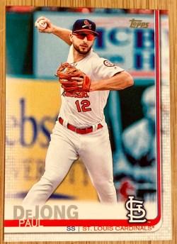 Topps Paul DeJong baseball trading card