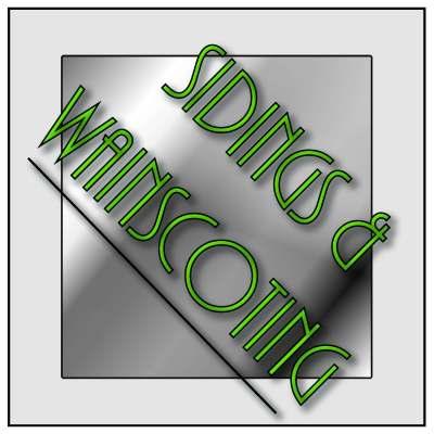 Sidings & Wainscoting - 9000