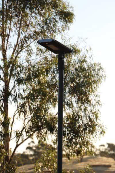 GFS-7 solar security light