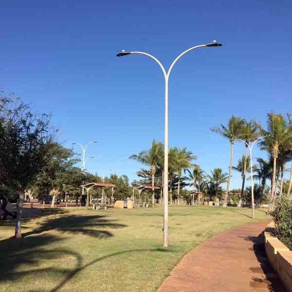 coastline street lights pt headland WA