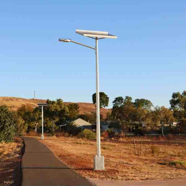 solar street lights in Karratha WA