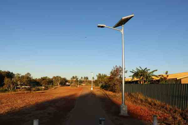 Region D Solar Street Lights GFS-200-RD