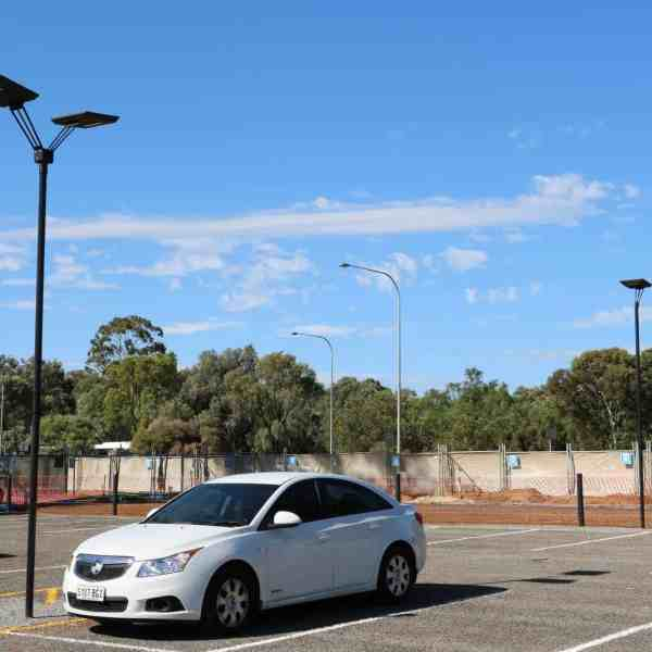 Twin head GFS-Stealth solar pathway lights