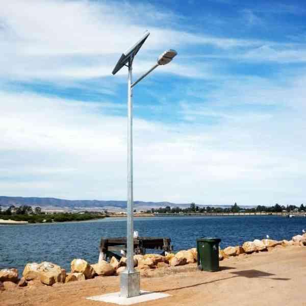 solar street lights Pt. Pirie