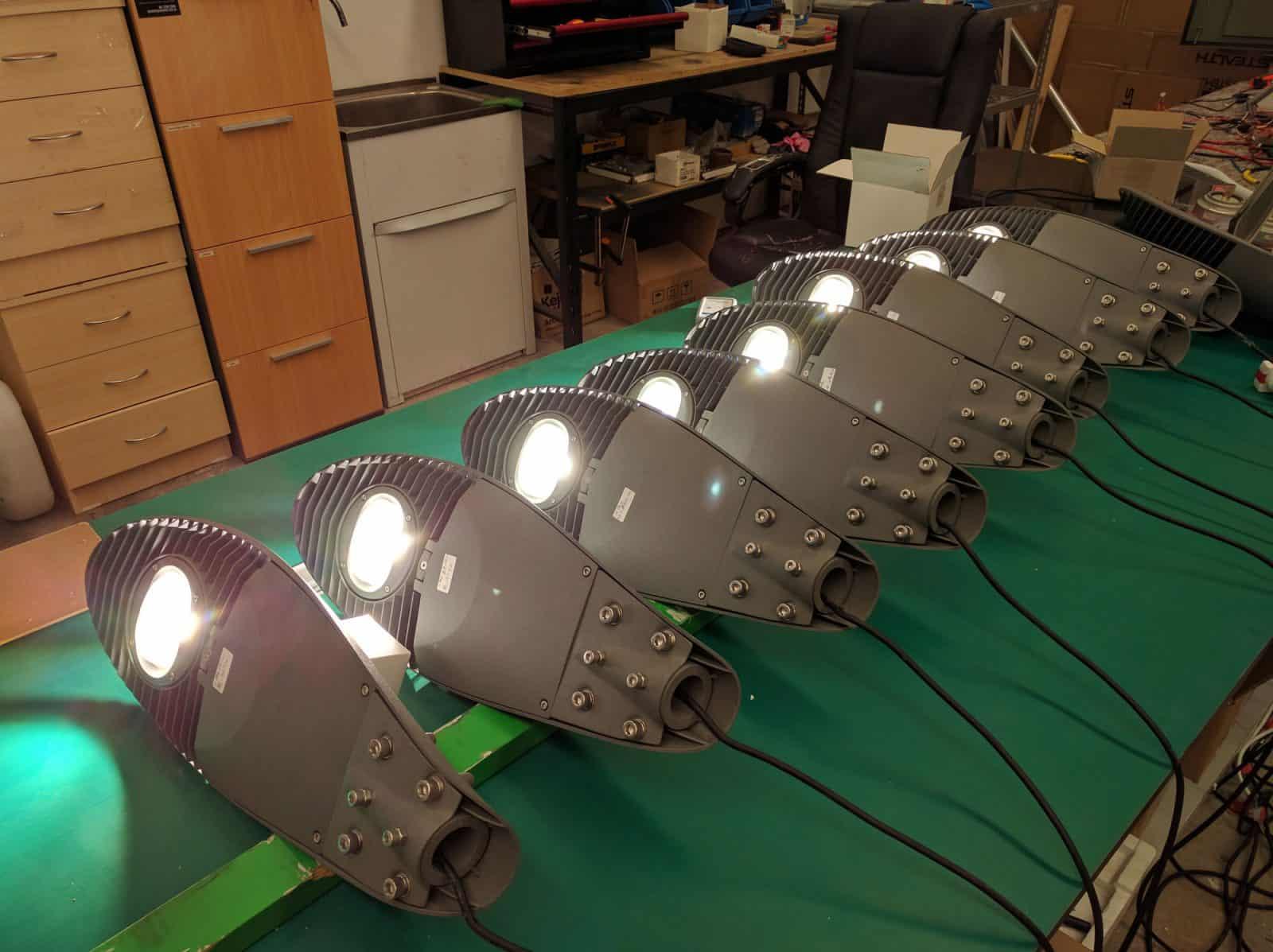 sentinel LED street lighting