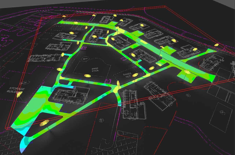 coffs harbour lighting plan