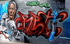 Grafitti - Science Wall