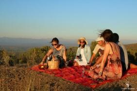 Koppies for sunset picnics, Gamkaberg