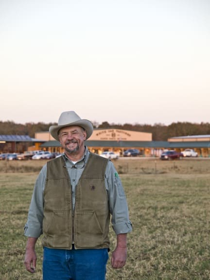 Farmer Will HArris at White Oak Pastures
