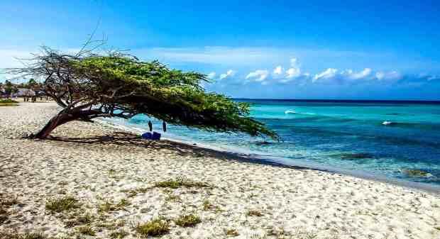 Southern Caribbean Islands -Aruba Beach